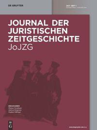 Journal der Juristischen Zeitgeschichte
