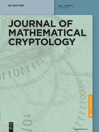 Journal of Mathematical Cryptology