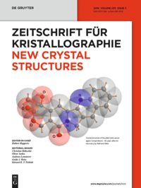New Crystal Structures