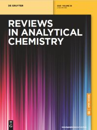 Reviews in Analytical Chemistry