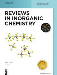 Reviews in Inorganic Chemistry