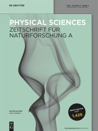 Zeitschrift für Naturforschung A