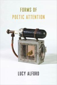 Test Cover Image of:  Forms of Poetic Attention