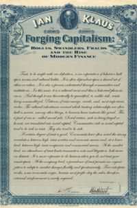 Test Cover Image of:  Forging Capitalism