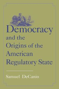 Test Cover Image of:  Democracy and the Origins of the American Regulatory State