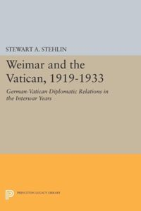 Test Cover Image of:  Weimar and the Vatican, 1919-1933