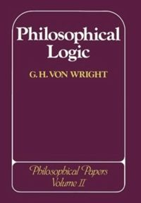 Test Cover Image of:  Philosophical Logic